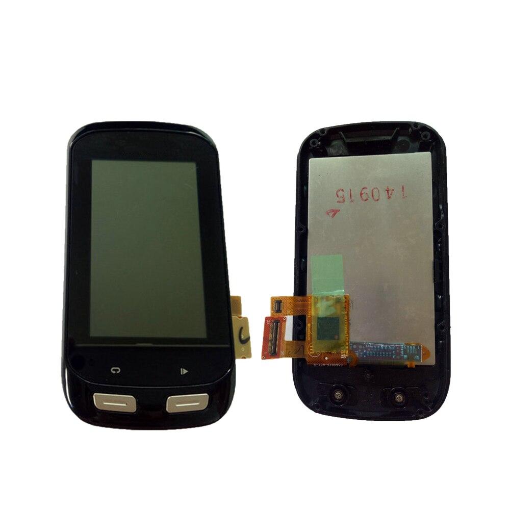 ЖК дисплей сенсорный экран для Garmin Edge 1000 дисплей экран замена сенсорной панели используется запчасти