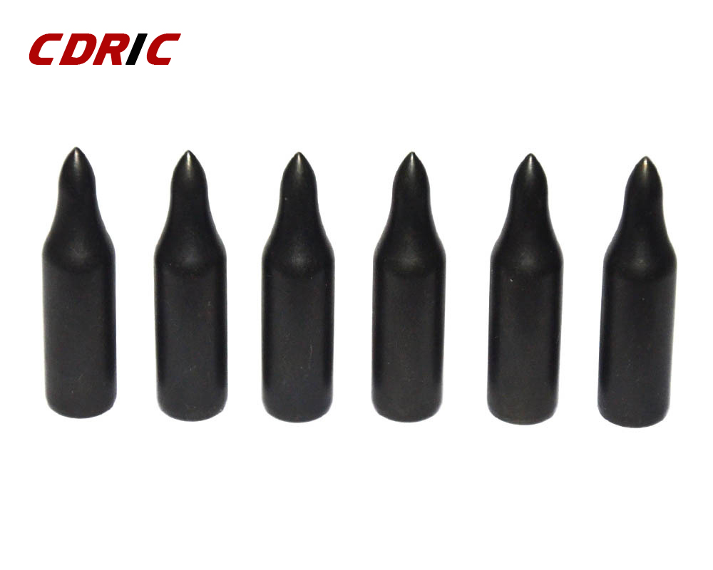 New 20/40pcs Black Water Drop Arrowheads Broadheads Arrow Head Tips Archery Practice Shooting Bow Sports Traditional