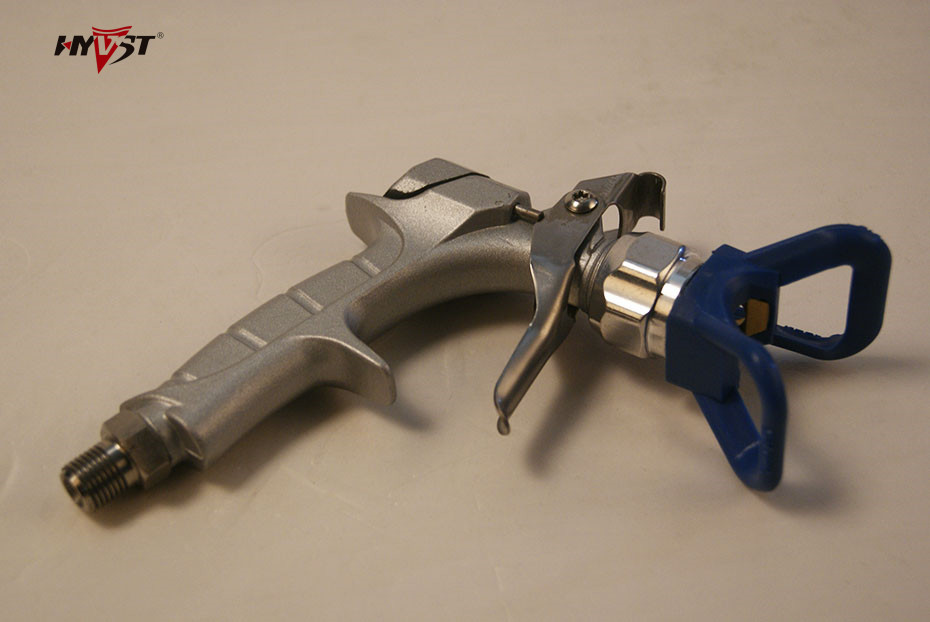 ФОТО DIY spray gun, 2 fingers, WPR:3600Psi (24.8MP)Paint hose adaptor1/4