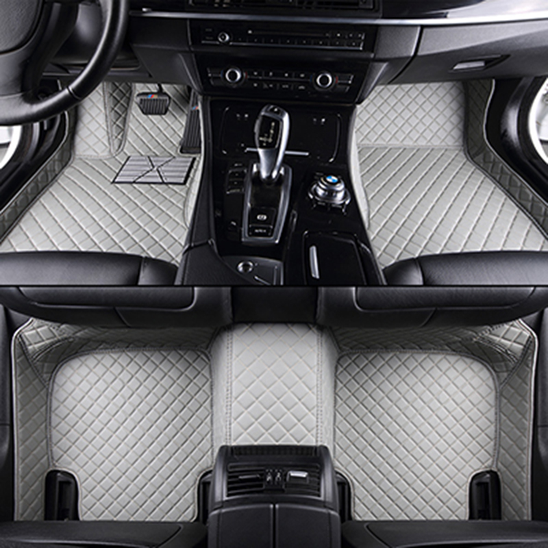Custom car floor mats for HUMMER H2 H3 car styling auto accessories car Stickers carpet interior leather custom car styling auto floor mats