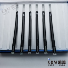 Mohs hardness pen 6 packs (grade 4-9), test the hardness of