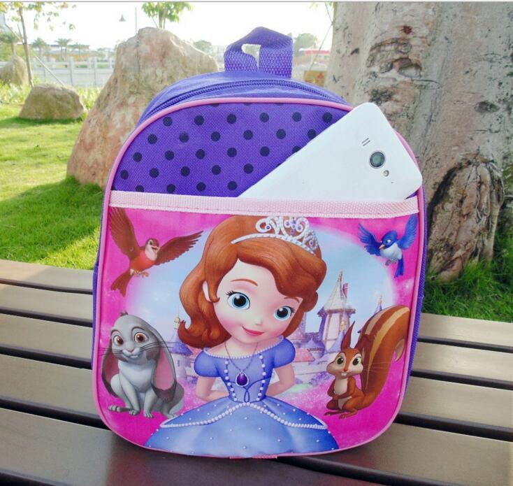 sofia the first sofia princess school bag Sofia backpack cartoon bag for girls sofia п 306