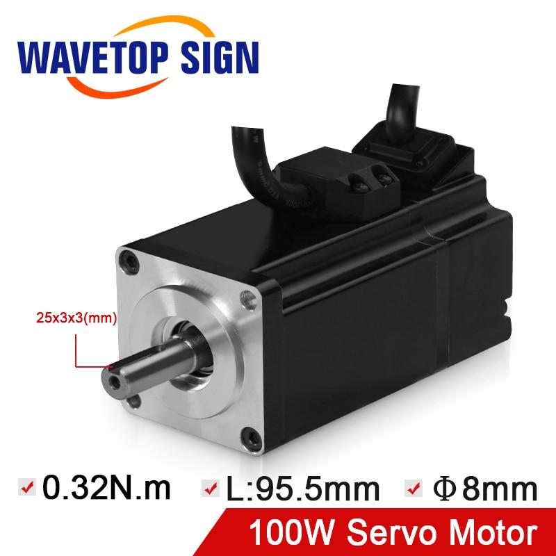 WaveTopSign Nema 40 servomoteur ACM4001L2H-60-D-SS maintien du couple 0.32N.m courant 1.27A couteau vibrant utilisation de la Machine de découpe