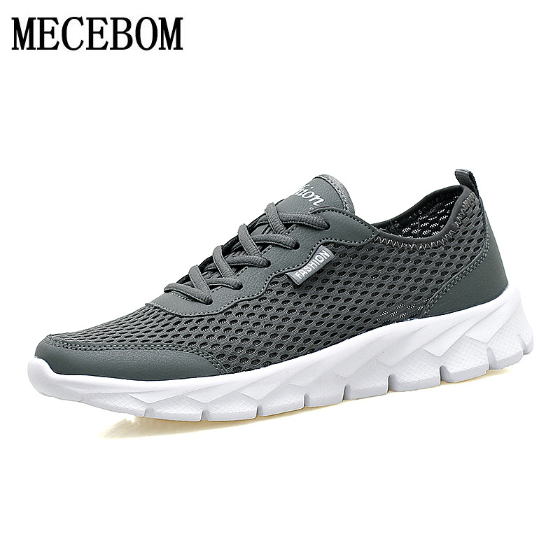 Men shoes 2017 new summer mesh breathable lace up men casual shoes large size 48 thick bottom footwear chaussure homme 580m