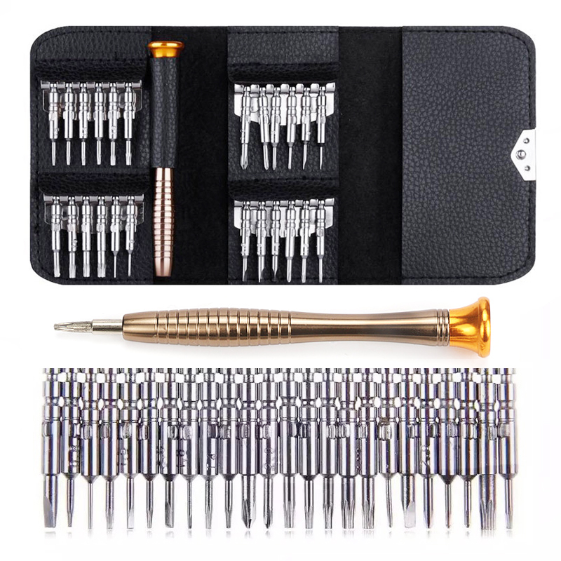 Jewii Screwdriver Set 25 in 1 Multifunctional Repair Tool Set Torx Screwdriver For Phones Tablet PC Portable Hand Tools(China)