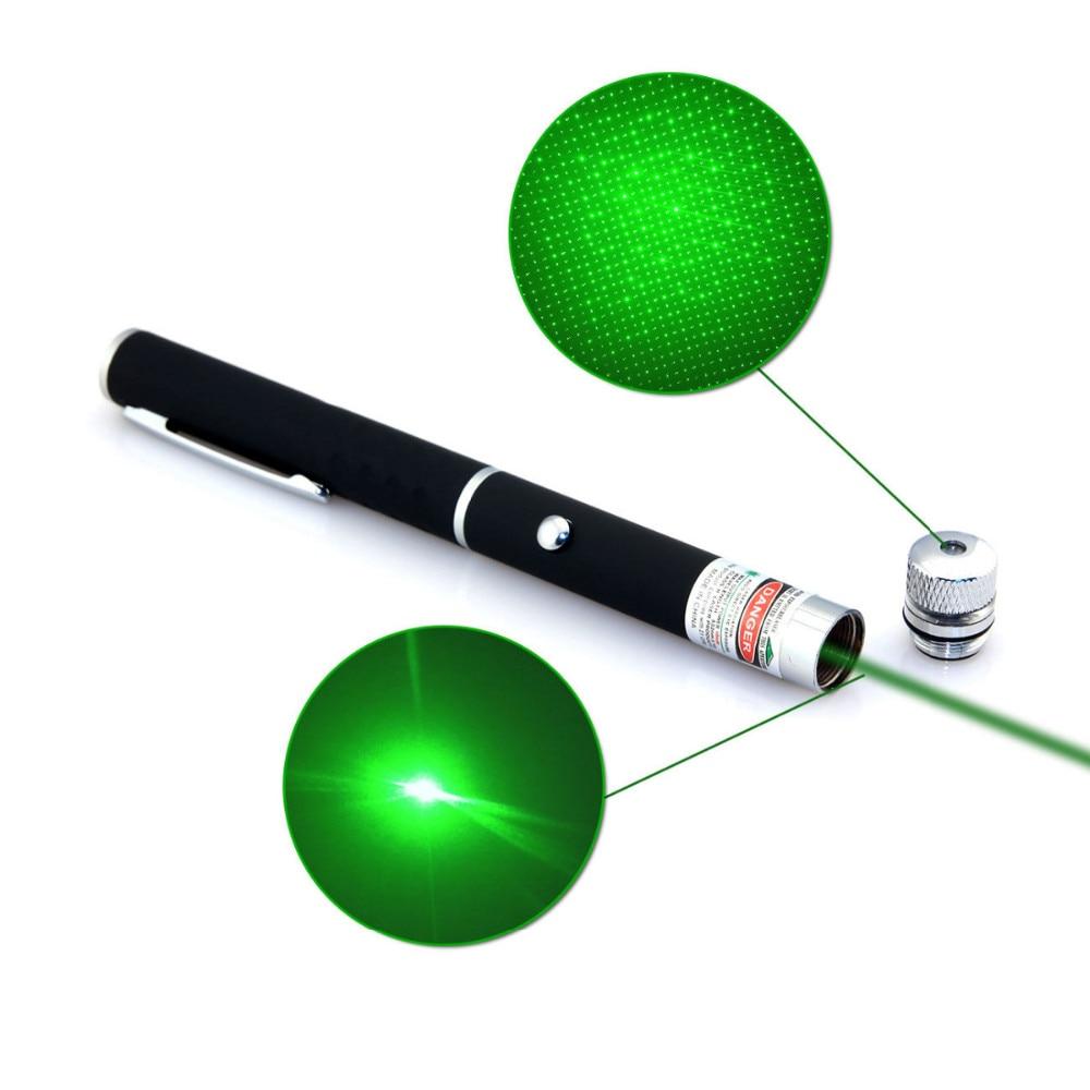 Мощен 5mW 6in1 зелен лъч лазерна - Офис електроника - Снимка 5