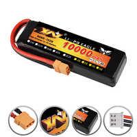 RC Car Lipo Battery 2S 3S 7.4V / 11.1V 10000mah 35C Max 70C XT90 / XT60/ T Plug For Rc Airplane Rc Car RC Truck