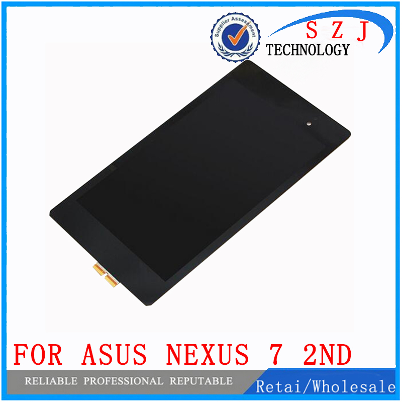 цена на New 7'' inch case For Nexus 7 2nd Gen 2013 LCD Display Touch Screen Digitizer Assembly for ASUS Google Nexus 7 2nd free shipping