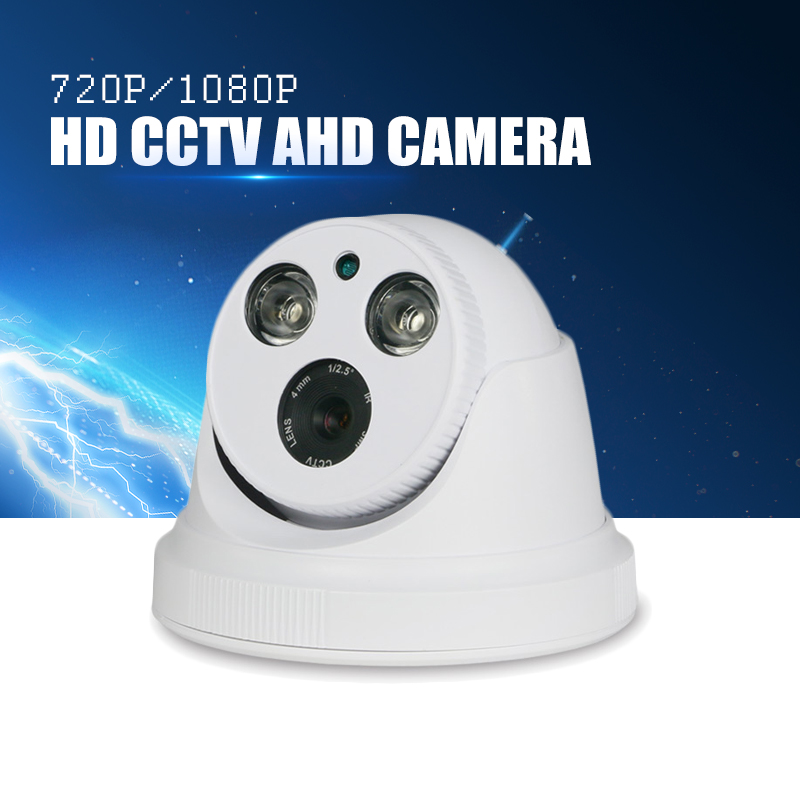 YiiSPO AHD 1080P IR Dome Camera 2.0MP AHD Camera indoor IR CUT Night Vision Array infrare CCTV security camera HD camera zilnk security analog hd 960p ahd camera night vision indoor ir 20m 3 6mm lens ir cut filter dome cctv camera