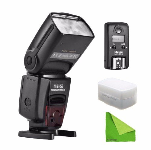 Meike MK-570 Wireless Flash Speedlite for Canon EOS 5D Mark II III 6D 7D With Flash Trigger Transmitter Diffuser Cleaning Cloth зарядное устройство canon ac e6n for eos 5d mark ii eos 5d mark iii eos 70d eos 6d eos 7d eos 7dmark ii eos 5ds