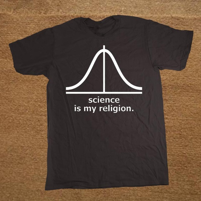 geekoplanet.com - Valentine's Science is My Rreligion Cotton T-Shirt