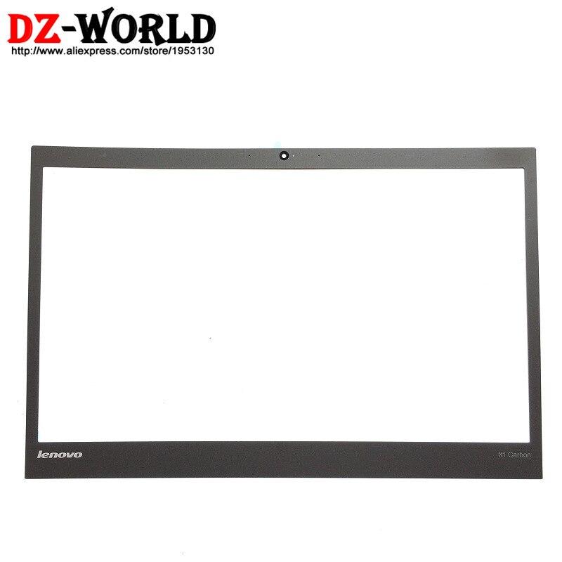 Nouveau/Orig pour ThinkPad X1 Carbone Gen 2/3 MT: 20A7 20A8 20BS 20BT Non Tactile LCD Cadre Partie Avant Shell Lunette Extérieure Couverture 04X5567