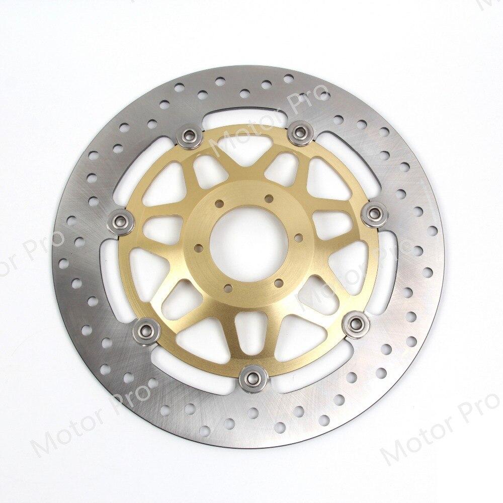1 PCS Front Brake Disc For Honda Hornet 250 1996 - 2001 Motorcycle Floating Brake Disk Rotor Hornet250 1997 1998 1999 2000 GOLD 1 pcs for suzuki rm 250 1989 1990 1991 1992 1993 1994 1995 1996 2012rmx s 250 motorcycle front brake disc brake disk brake rotor
