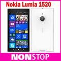 Abierto Original Nokia Lumia 1520 teléfonos móviles Quad Core 6.0 pulgadas de pantalla táctil 3400 mAh 32 GB 20MP cámara de almacenamiento