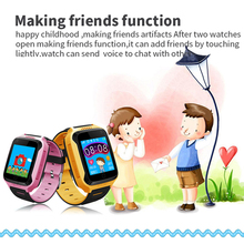 Benovel Q528 Y21 Touch Screen GPS Child Smart Watch