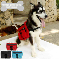 Carrier Dog Pet Carrying Bag Supplies Camping Travel Accessories Bag Carrying Waste Bag Dog Carriers Backpack