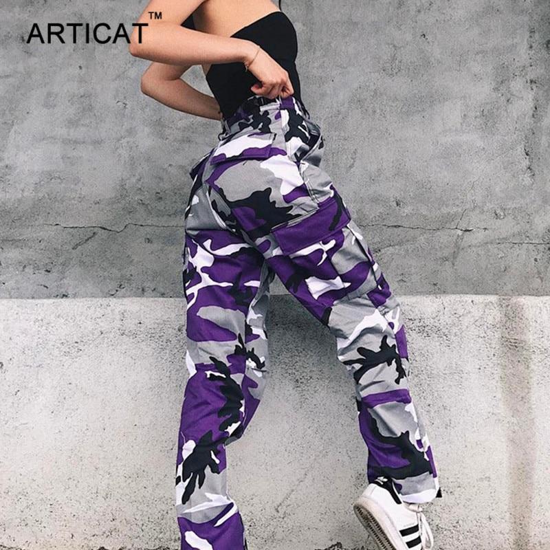 Articat Camouflage Harem Pants Women 2018 Hip Hop ...