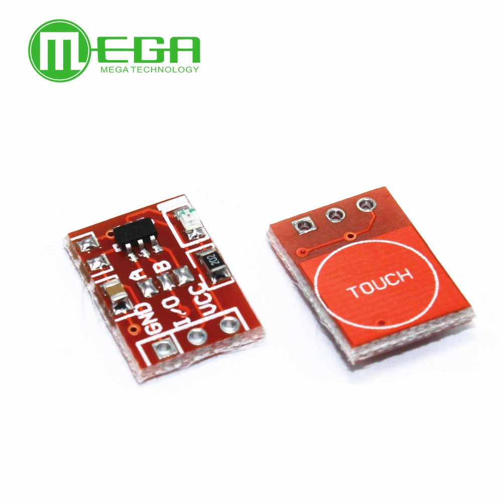 5pcs TTP223 Touch Button Module Capacitor Type Single Channel Self Locking Touch Switch Sensor