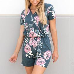 2017 new aeeival short sleeve jumpsuit women elegant floral print romper female sweet v neck backless.jpg 250x250