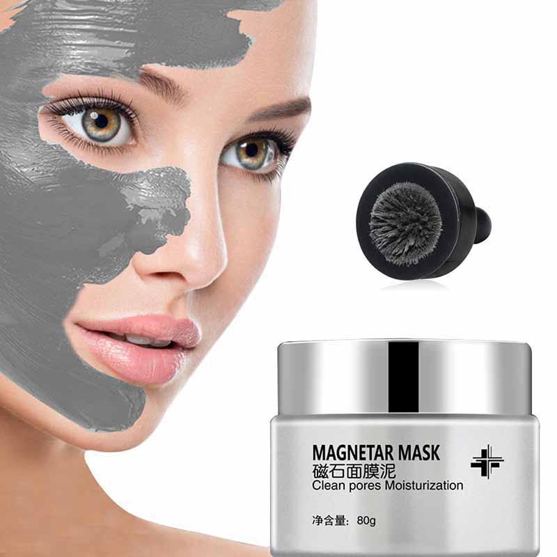 Neueste Magnet Gesicht Maske Mineral-Reiche Poren Tiefe Reinigung Entfernt Haut Verunreinigungen Magnet Algen Feuchtigkeits Anti-aging