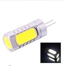 1pcs/lot free shipping High power G4 cob lamp 9w 5 led bulb g4 spotlight DC 12V Dim lighting white/warm white