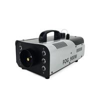 2018 Mini 900W RGB 3IN1 Remote Control fog machine with Professional for Party KTV Disco DJ Stage Fogger Machine Free Shipping
