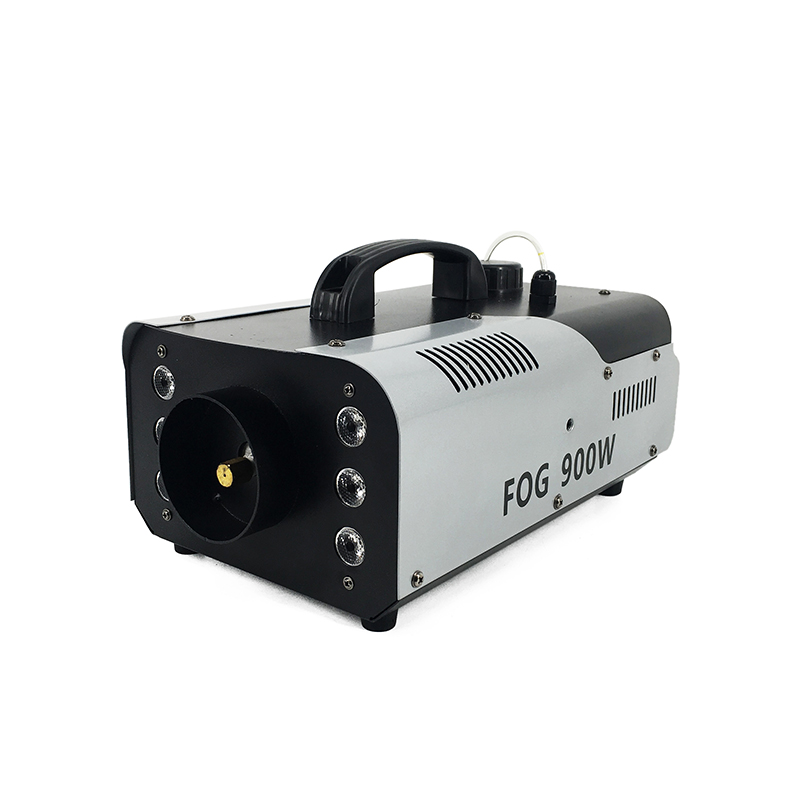 Mini 900W RGB 3IN1 Remote Control Fog Machine  With Professional For Party KTV Disco DJ Stage Fogger Machine Free Shipping