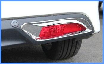 Livraison gratuite! Couvercle antibrouillard arrière ABS chrome 2 étoile supérieure/couvercle antibrouillard arrière pour Honda JADE 2013