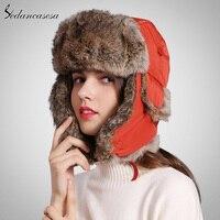 Trapper Hats Warm Unisex Winter Autumn Bomber Hat Men Women Military Cap With Adjust Buckle Ear Flaps Bomber Caps WG160066