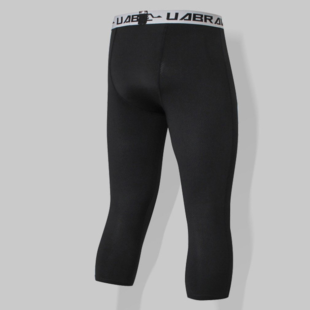 79704ad5f284c 2019 Fashion Thicken Men Sports Fitness Pants Slim Fit Skinny Trousers  Bodybuilding Fitness Gym Compression Leggings Sweatpants Crease-Resistance  Sports ...