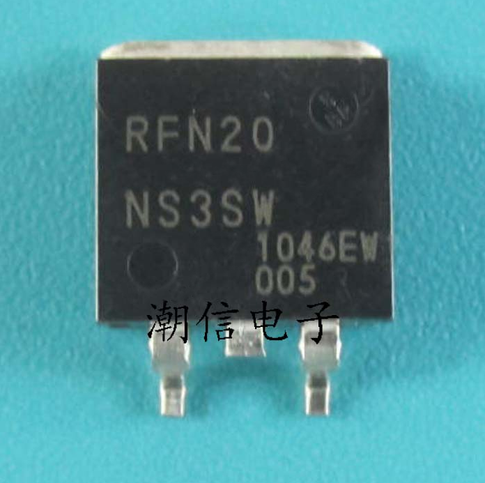 5pcs RFN20 RFN20NS3SW   TO-263  Liquid Crystal Ion Dedicated Triode Field Effect