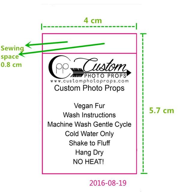 2000 Pcs Custom Soft Satin Washing Labels Adult Clothing Print Care