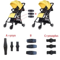 For yoyo baby yoya plus stroller accessories connector adapter make into pram twins 3pcs Coupler Bush insert into the strollers