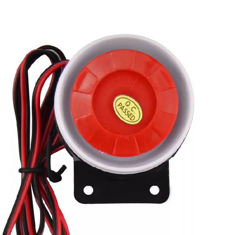 5V 12V 24V Mini Wired loud Siren Tweeter Anti-Theft Alarm Horn Siren Buzzer For Wireless Home Alarm Security System 120 dB 120db loud security alarm siren horn speaker buzzer black red dc 6 16v