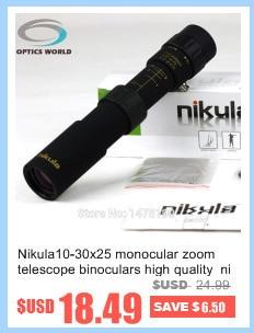 Monocular 8x25 telescópio escopo profissional óptica bolso