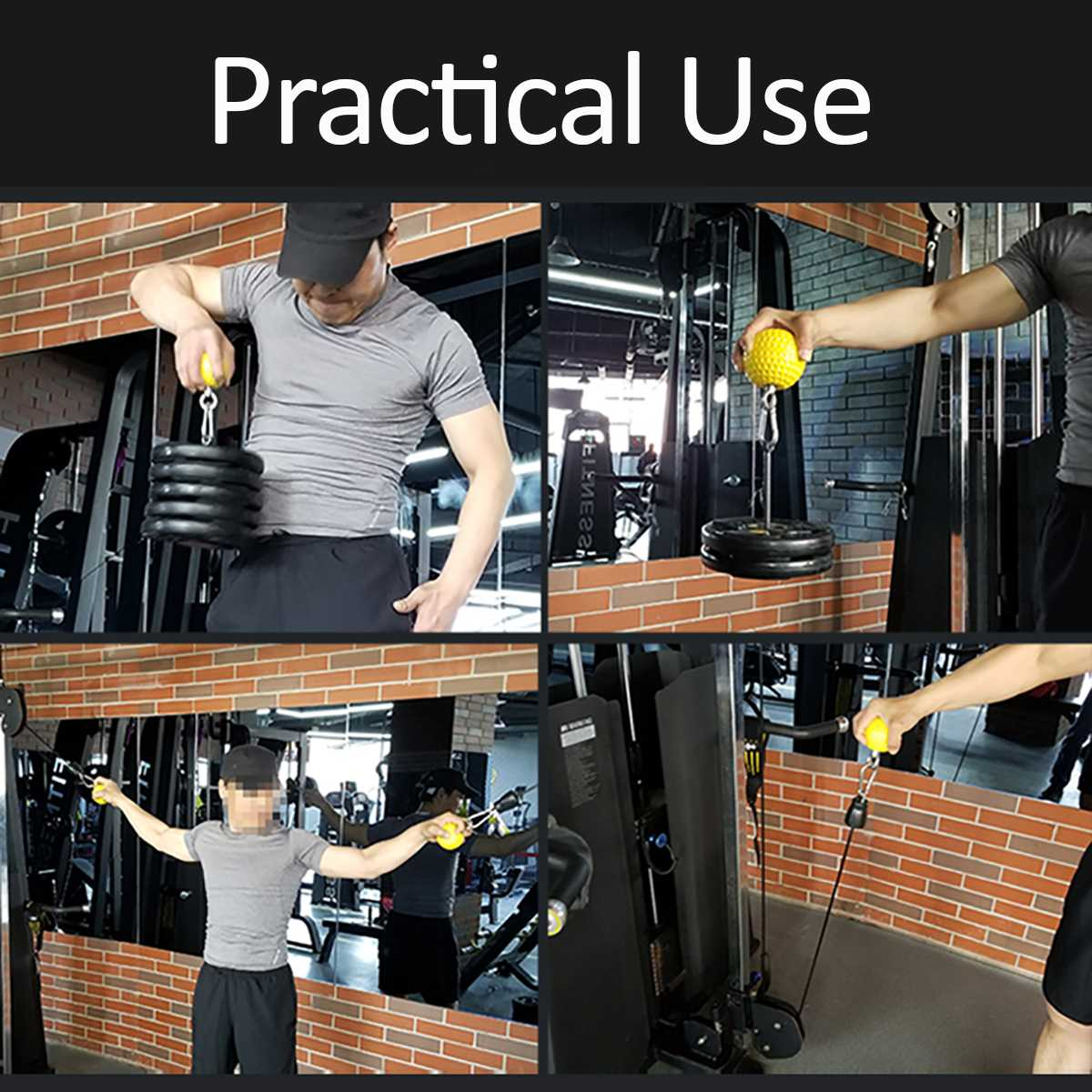 Braço para treinamento de 72 97mm, exercícios