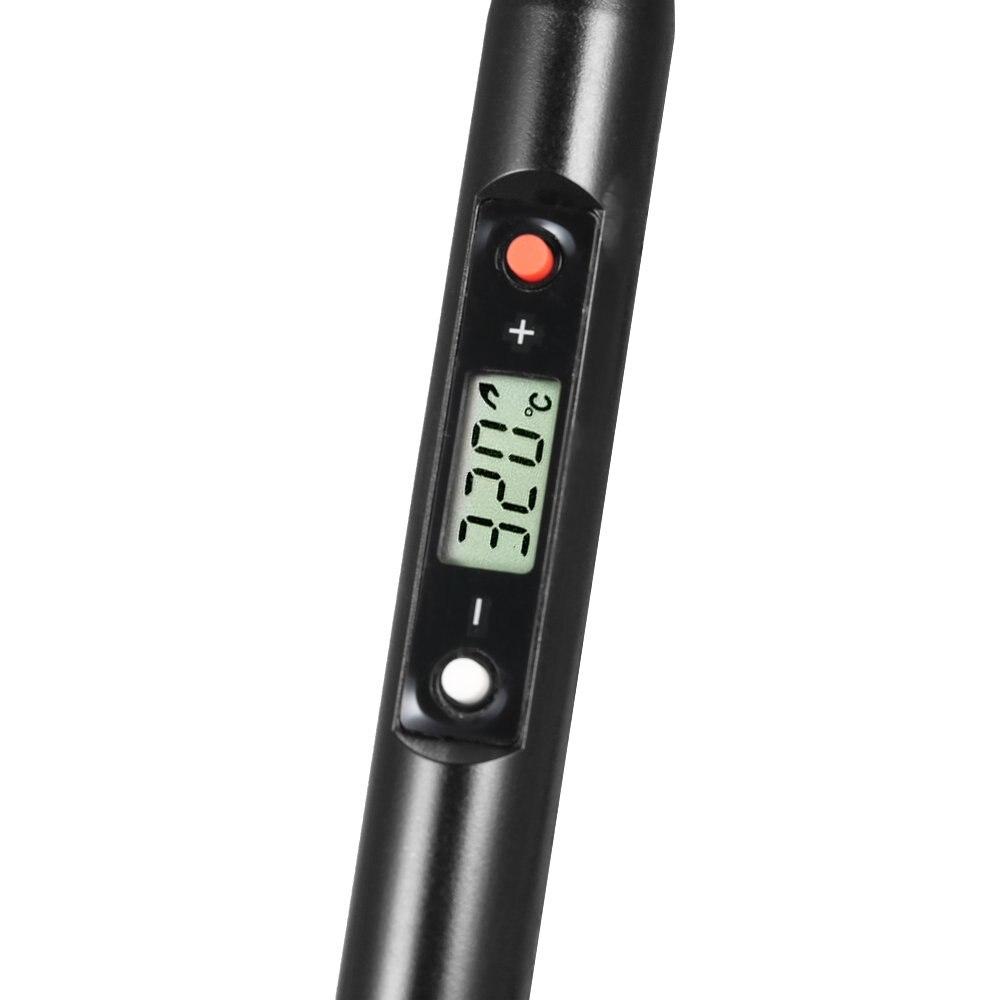 60 Вт/80 Вт Профессиональный ЖК-цифровой электрический паяльник с регулируемой температурой Электрический паяльник мини-паяльник