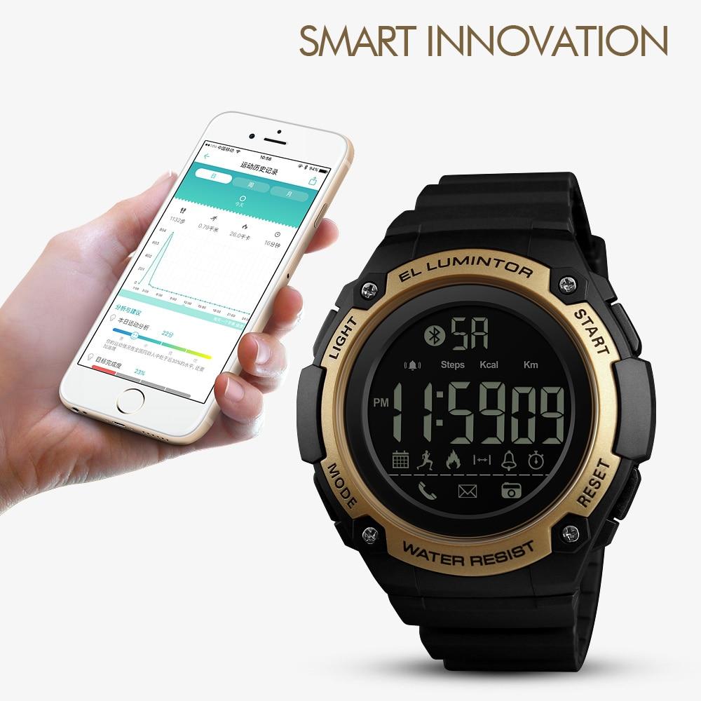 Men's Watches Watches Zk30 Top Luxury Smart Sport Watch Men Calorie Watches Call Reminder Alarm Clock 5bar Waterproof Digital Watch Reloj Hombre 1347 Quell Summer Thirst
