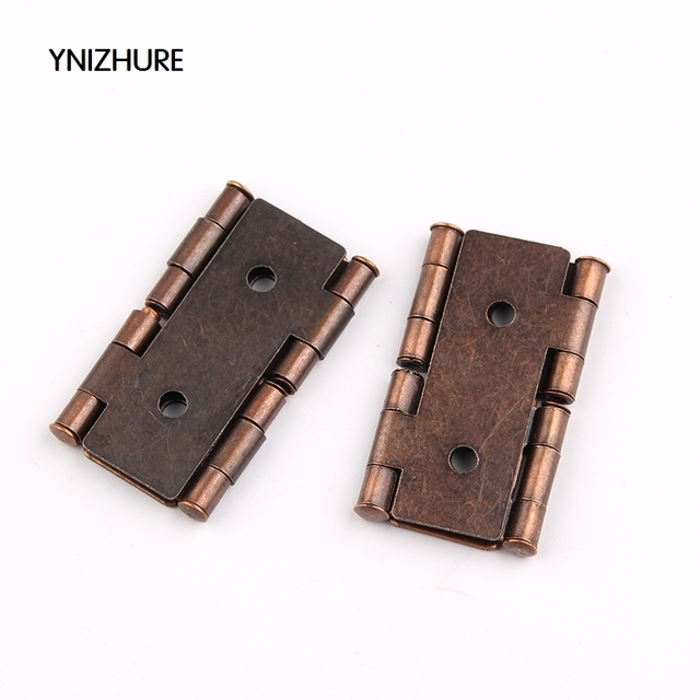 20pcs antique furniture Silk hinges jewelry box hinges retro jewelry Retro  Style Double Acting Folding Screen - 20pcs Antique Furniture Silk Hinges Jewelry Box Hinges Retro