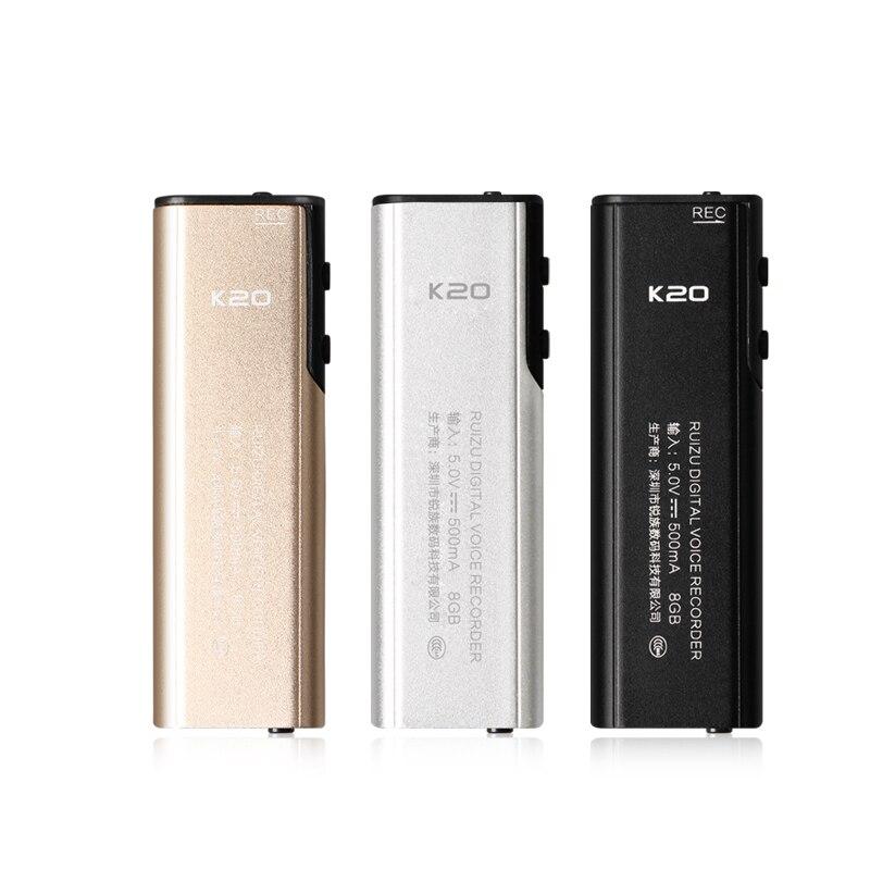 Voice recorder audio mini portable recording pen professional HD mp3 player digital dictaphone mini 8gb sound recorders