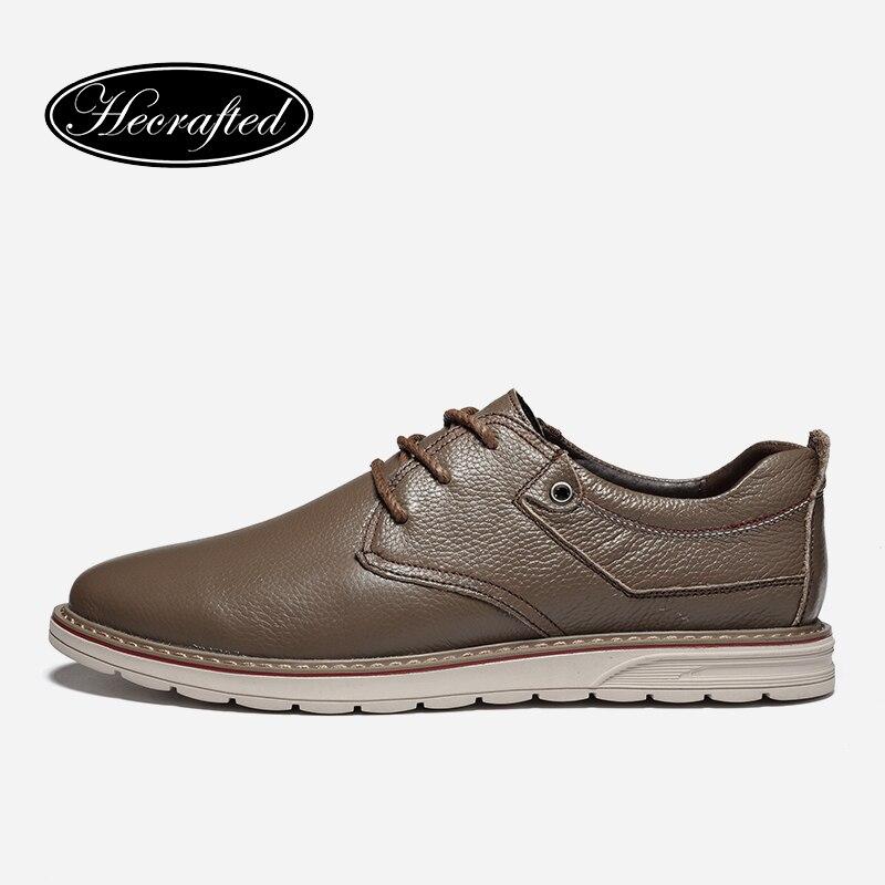 Размер 36-46 из кожи с натуральным лицевым покрытием Мужская обувь Удобная Мода 2017, мужские кожаные туфли # BG89168