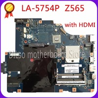 KEFU LA 5754P motherboard for Lenovo G565 Z565 Laptop motherboard Z565 motherboard ( with HDMI port ) Test mainboard