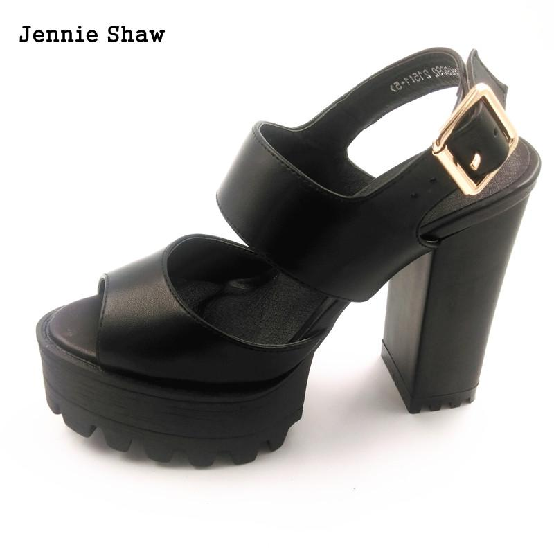 цены New Arrival Summer shoes Women White black high heels Sandals platform sandal open toe sys-895