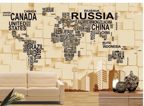 Customize wallpaper papel de parede 3d three dimensional mural customize wallpaper papel de parede 3d three dimensional mural backdrop creative world map 3d wallpaper gumiabroncs Choice Image