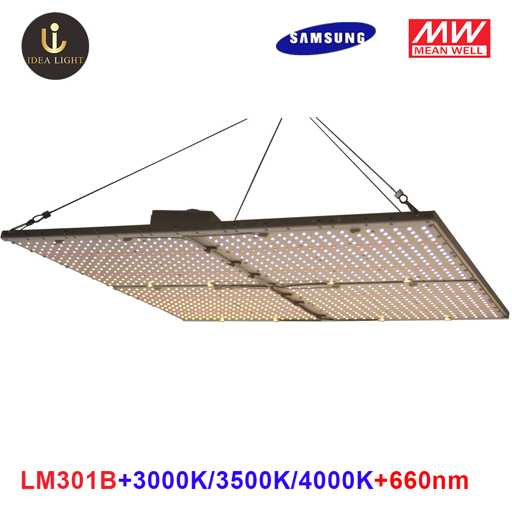 Led Grow Light Quantum Board Samsung LM301B LED Full Spectrum 120W 240W 480W Samsung 3000K 660nm,Veg/Bloom State Meanwell Driver