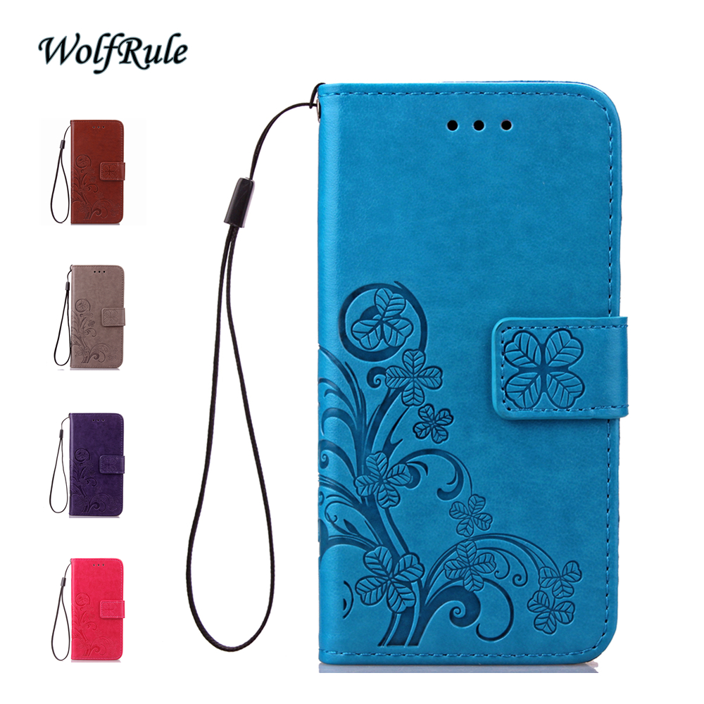 Wolfrule Phone Case Xiaomi Redmi Note 3 Pro Cover Flip Leather Tpu For