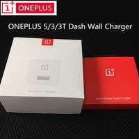 Oneplus 5T Dash Charger,Original 5V 4A Usb Wall Quick Fast Charge adapter For one plus 3 3t 5 smartphone & 100CM type c cable