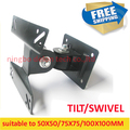 10 inch 24in 27 inch tiltable swivel LCD wall bracket mount stand  tv holder