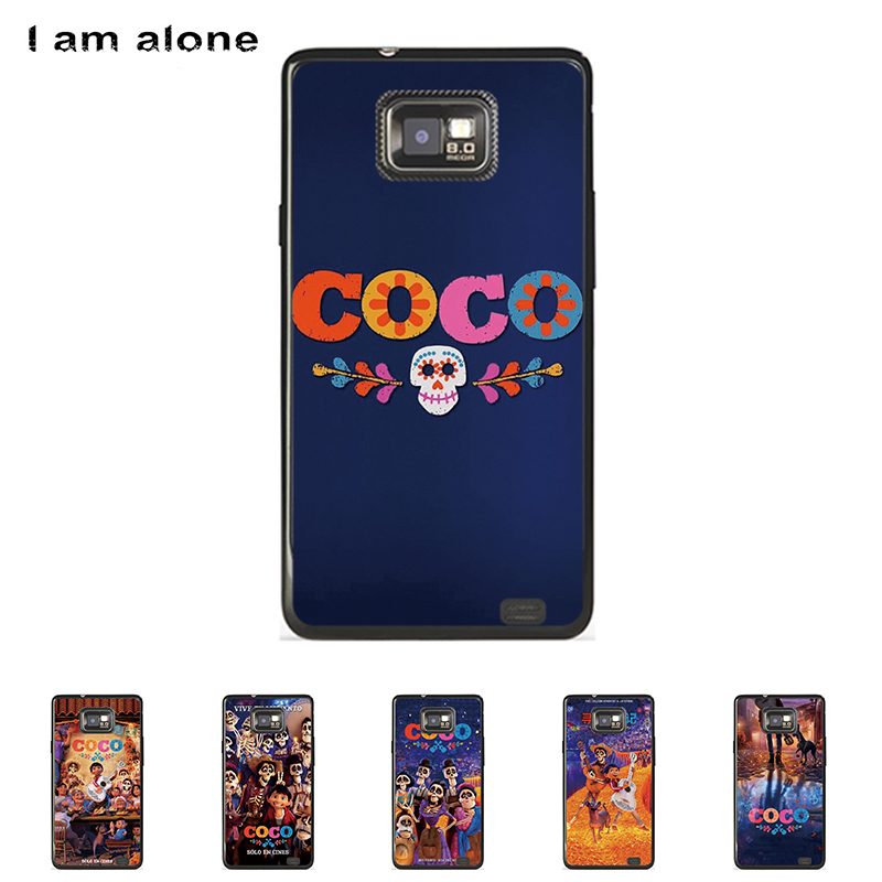 For Samsung Galaxy S II S2 I9100 4.3 inch Solf TPU Silicone Color Paint Case Mobile Phone Cover Bag Cellphone Shell Skin Mask