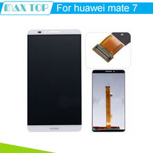 For Huawei Mate 7 LCD Display+Touch Screen Original Assembly Replacement For Ascend MATE 7 Phone 3 Colors